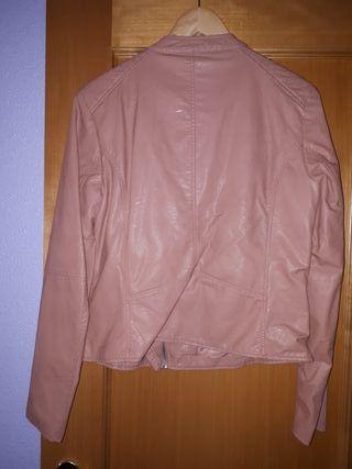 Chaqueta poli - piel rosa