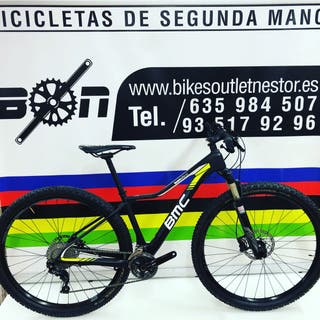 Bicicleta BMC team elite02 carbon 29 XS
