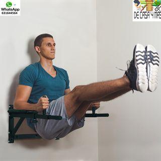Barra Musculacion para Fijar a Pared Deporte Fitne