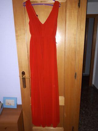 Vestido noche rojo