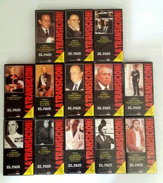 13 VÍDEOS VHS-TRANSICIÓN ESPAÑOLA-Colección entera