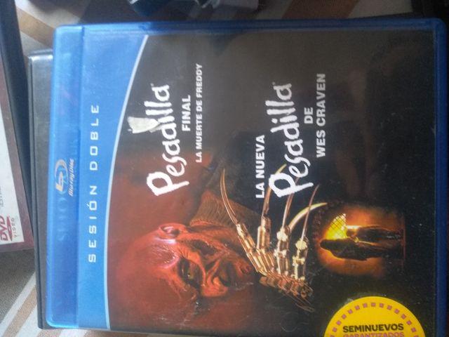 Blu-ray Pesadilla En Elm Street Final La muerte de