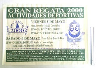 AÑO 2000 REGATA POSTER/CARTEL Colección!!!