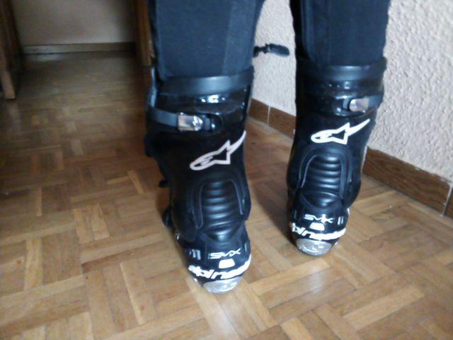 Botas moto chica