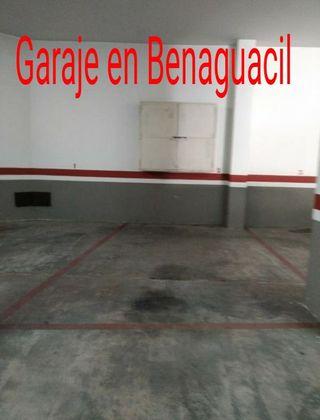 Garaje en benaguacil