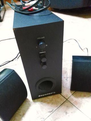 Altavoces multimedia Soyntec Voizze 200