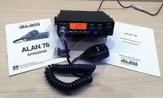 Emisora CB 27 Midlan Alan 78 abierta de bandas