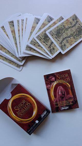 Juego de cartas El Señor de los Anillos.