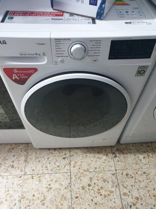 oferta lavadora LG DE 8kg 1400rpm 180€ garantía