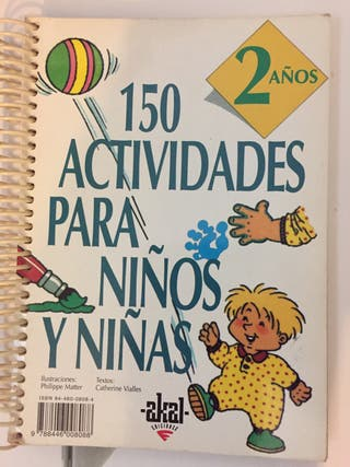 Libro 150 actividades para niños y niñas