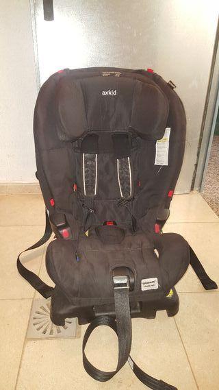 AXKID KIDZONE. silla coche grupo 1 y 2. ACM y AFM