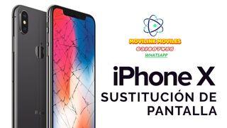 PANTALLA IPHONE X CON (GARANTIA 6 MESES)