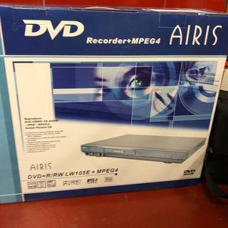 Reproductor grabador DVD airis
