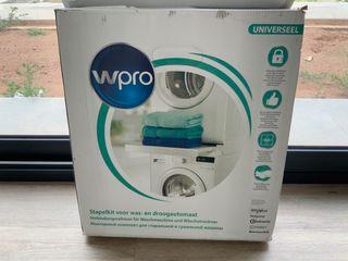 Kit de superposición de lavadora y secadora