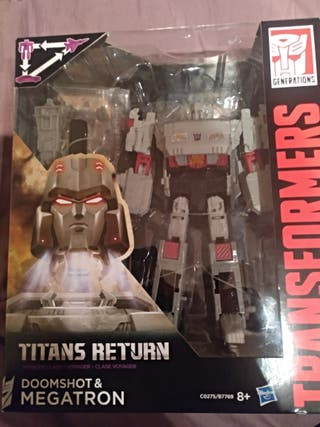 Transformers Titans Return Megatron & Doomshot