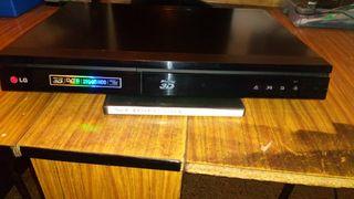 reproductor dvd LG blub rey con disco duro 250 gi