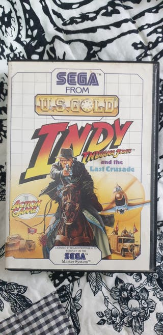 juego Master System Indiana Jones