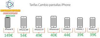 PANTALLAS IPHONE CALIDAD AAA+ CON GARANTIA 6 MESES