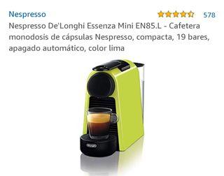 Cafetera capsulas Nespresso