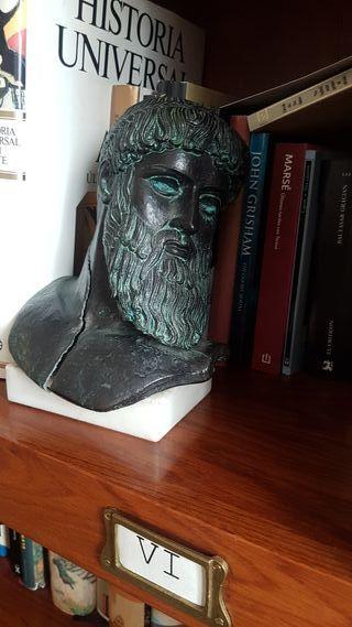 Busto Griego en bronce