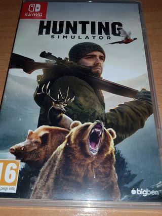 hunting simulador nintendo switch