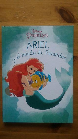 """Libro infantil """"Ariel y el miedo de Flounder"""""""