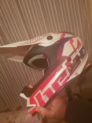 casco motocross hebo