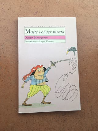 Libro Maite vol ser pirata