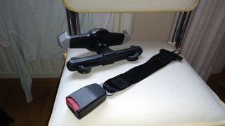 Soporte tablet y prolongador cinturón silla
