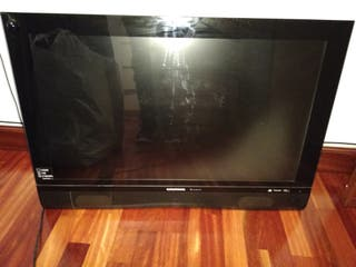 televisión plana grundig