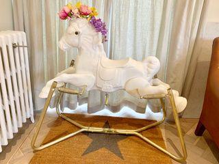 Unique Antique Rocking Horse