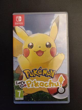 Pokémon Lets Go Pikachu Nintendo Switch