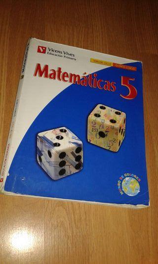 Libro de Matemáticas 5°Primaria