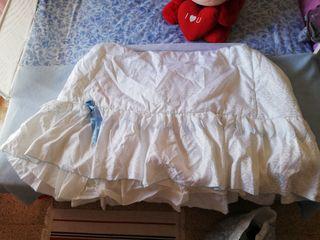 vestiduras moisés mini cuna
