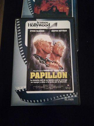 Papillón, DVD.