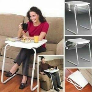 Mesa auxiliar para comer en el sofá envío gratis