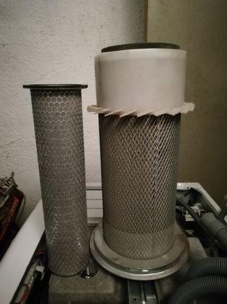 filtro de excavadora
