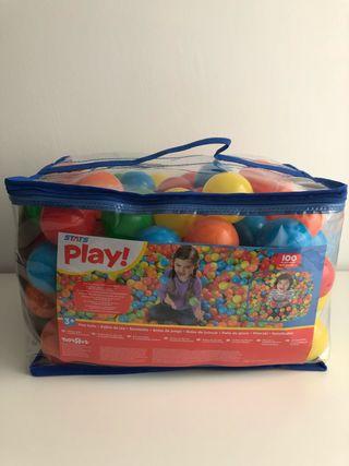 Bolas para parque infantil 6 cm