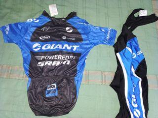 Conjunto ciclista Giant corto