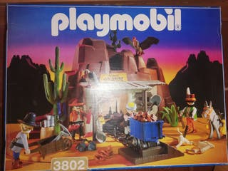 playmobil mina de oro