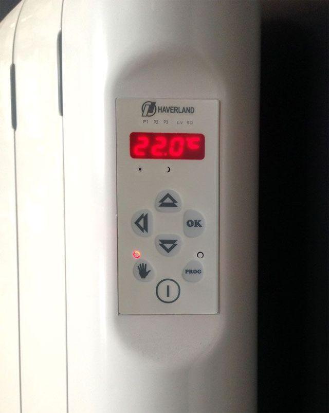 Emisor térmico digital - calefacción por fluido-