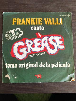 """Vinilo Single Grease """"Brillantina"""""""