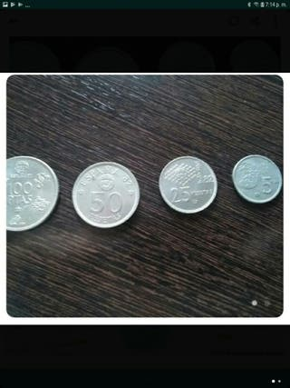 monedas españolas del año 82