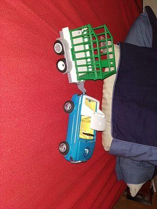 coche y remolque playmobil