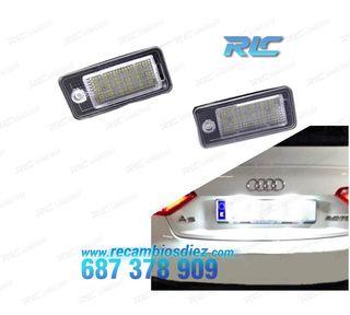 Luces de matrícula LED Audi Q7 (2006-2012)