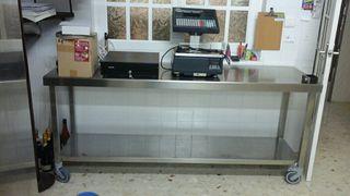 Mobiliario de panadería y pastelería