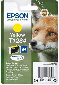 Cartucho de tinta amarillo T1284