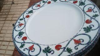 platos de presentación restaurante