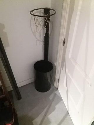 cubo de basura canasta