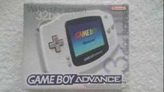 GAME BOY ADVANCE GBA